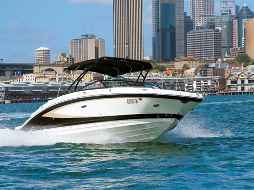 Sea Ray 270 Sundeck outboard model