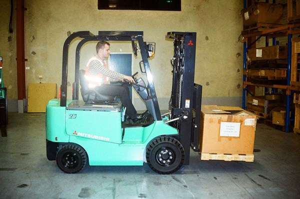 Mitsubishi FB25CA Forklift