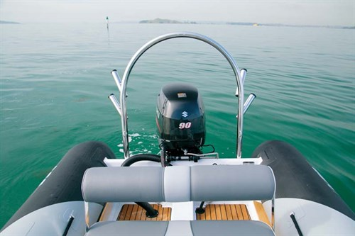 Cormorant 550 RIB fishing rod holders