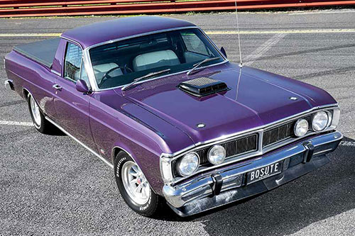 Ford Falcon Wild Violet XY Fleet review on shadow cars, pd cars, fy cars,
