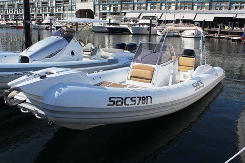 SACS Sport 780 rigid inflatable