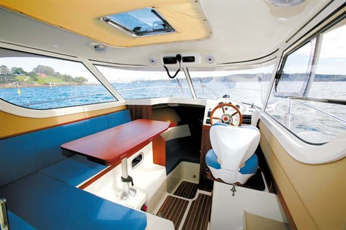 Interior of Arvor Weekender 700