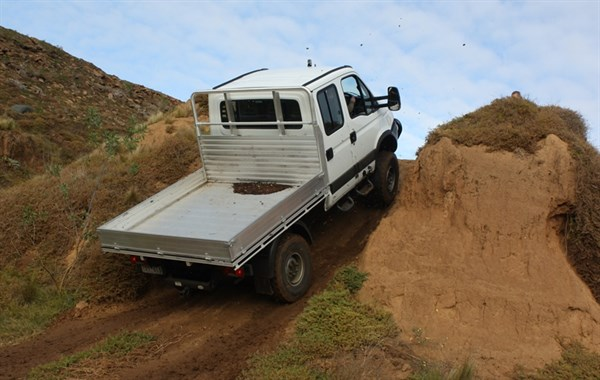 Diff Locks Give The Iveco Serious Climbing Cred