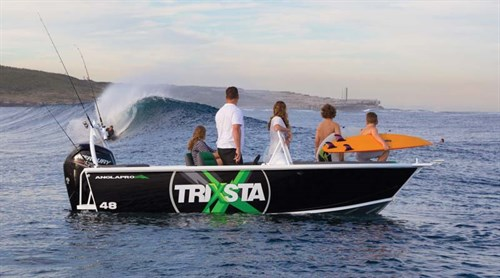 Trixsta skiboat from Good Times Marine