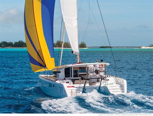 Lagoon 39 sailing cat