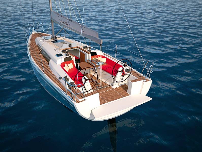 Hanse 315 sailboat