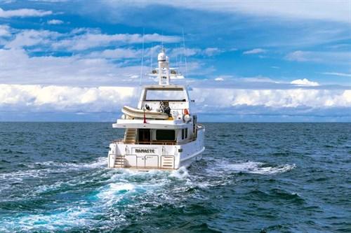 Bering 65 Expedition Series cruising
