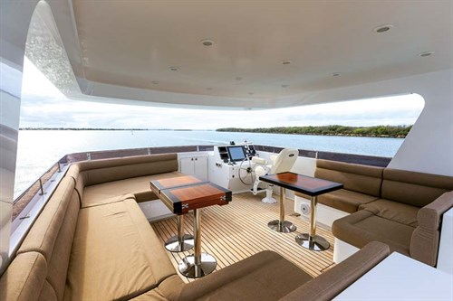 Main deck on Bering 65 Expedition