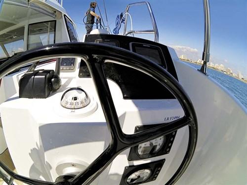 Wheel on Nautitech 40 Open