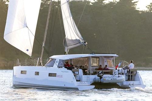 Nautitech 40 Open sailing cat
