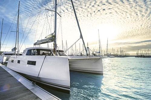 Nautitech 40 Open sail boat
