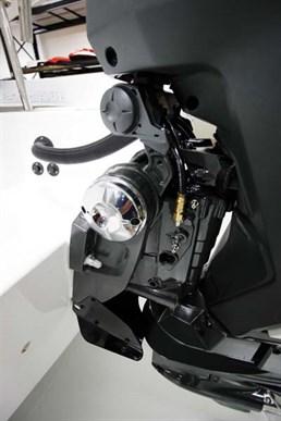 200hp E-TEC outboard tilt