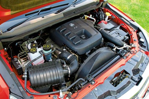 Holden Colorado 7 LTZ engine