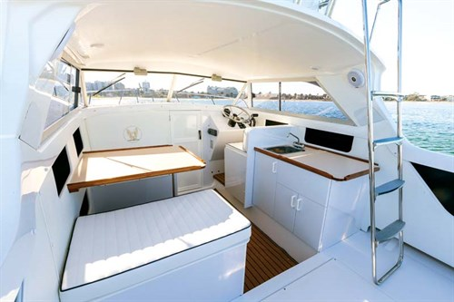 Caribbean 24 Flybridge layout