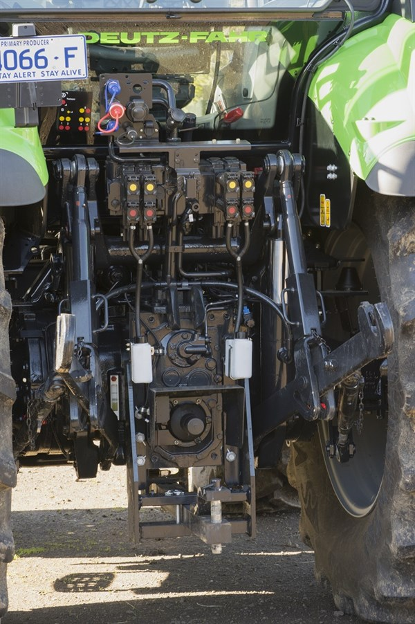 Deutz -Fahr 6160C -hydraulics