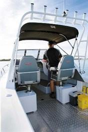 Stacer 739 Ocean Ranger cockpit