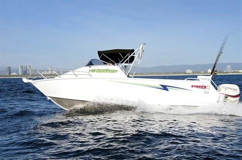 Stacer 739 Ocean Ranger on the water
