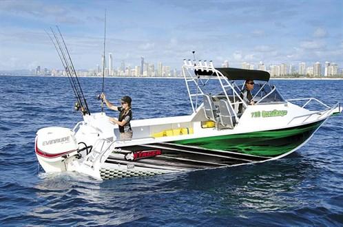 Stacer 739 Ocean Ranger at rest