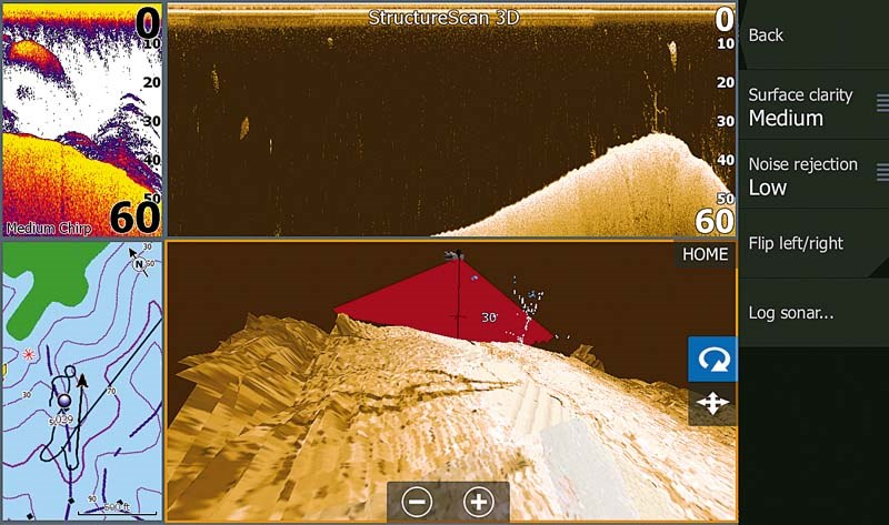 Lowrance Structure Scan 3D