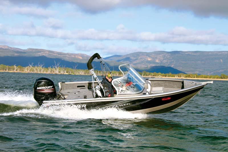 Crestliner tinnie boat