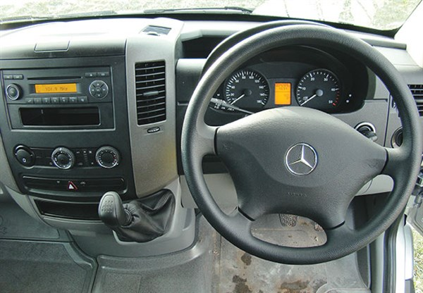 Mercedes -Benz -Sprinter -315CDi ,-van ,-review ,-TT2