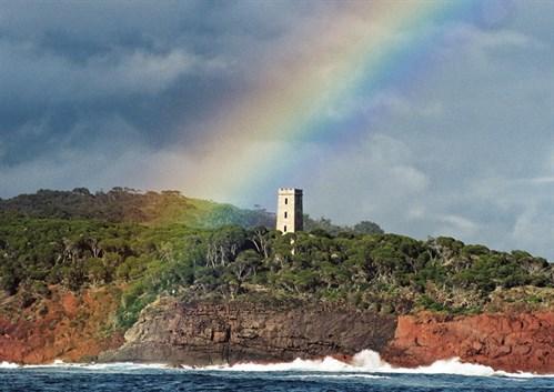 Boyd's tower in Eden