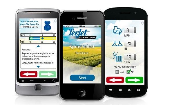 Tee Jet -spray -select -app