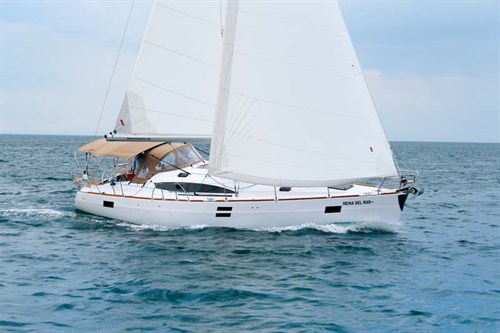 Elan Impression 45 furling mainsail