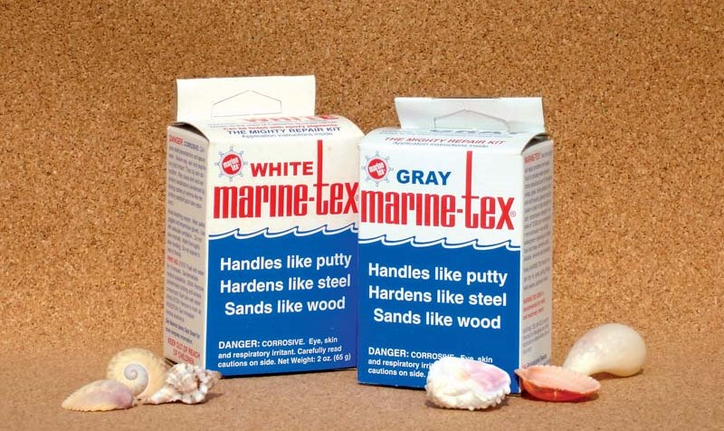 Marine Tex putty epoxy