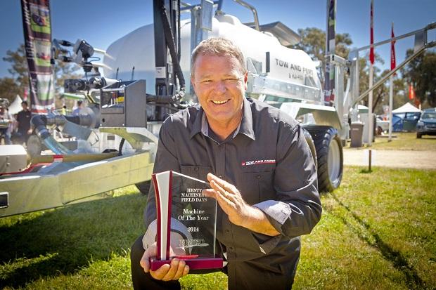 Machine Of Year Winner Neil Parker