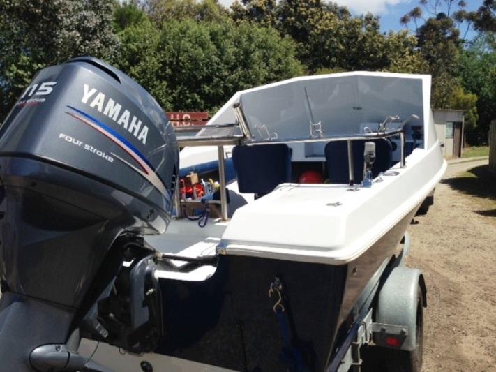 Wavebreaker on Caribbean project boat