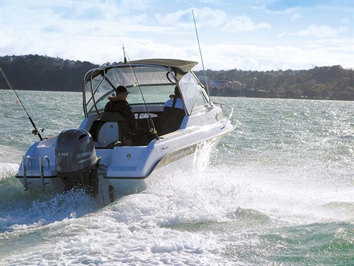 Haines Hunter 545 SF with 130hp Yamaha