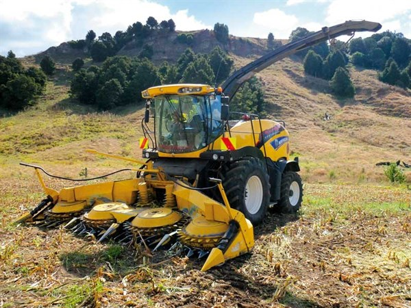 New Holland FR600 Harvester _FR6001