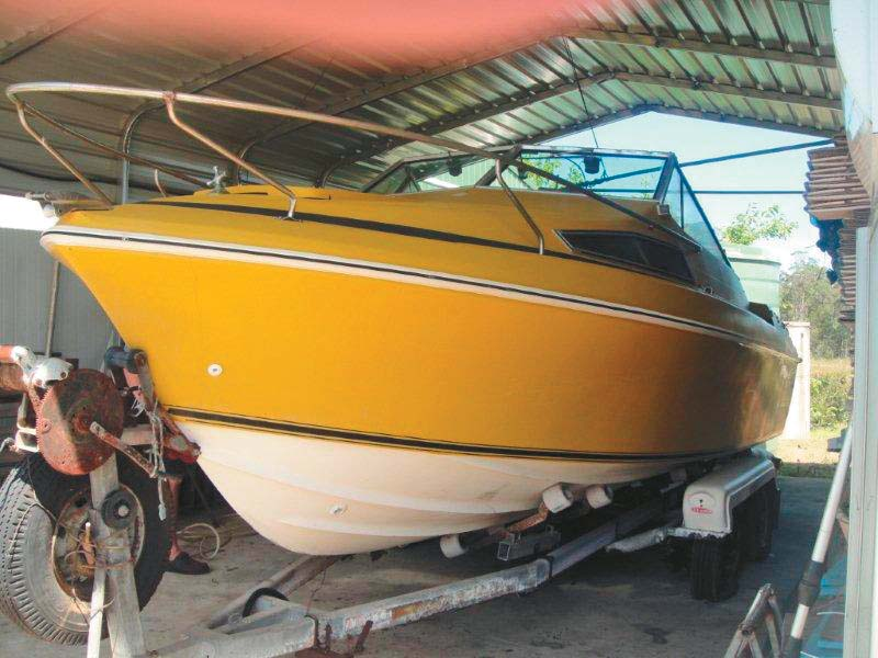 Haines 635L boat hull