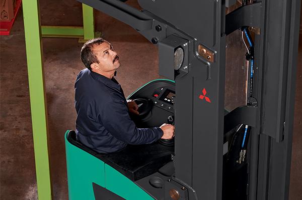 Forklift ,-review ,-Mitsubishi ,-EDR18N2,-ATN2