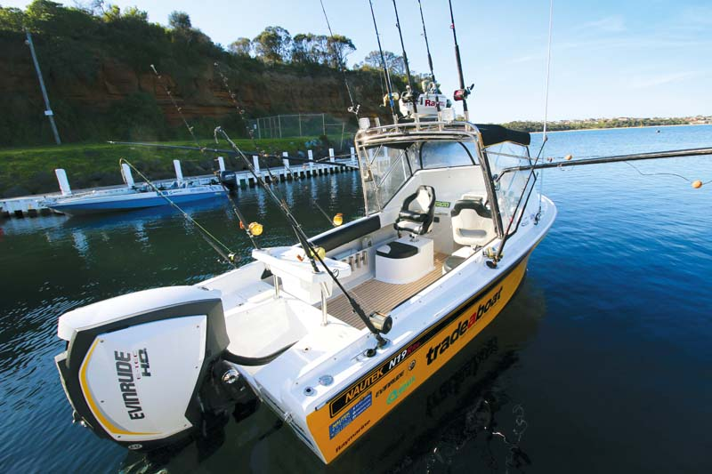 Haines V19R boat restoration