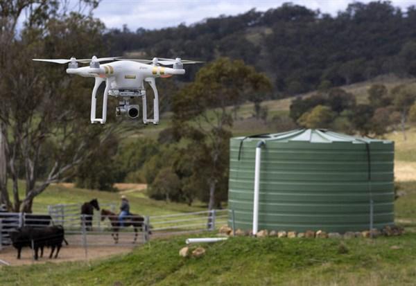 DJI Phantom 3 Drone _monitor Water Tank Levels _9180