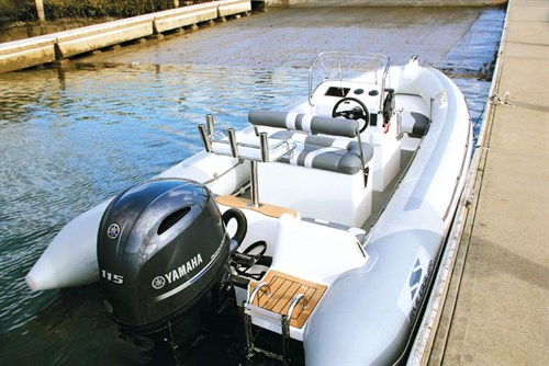 Strata 600 rigid inflatable