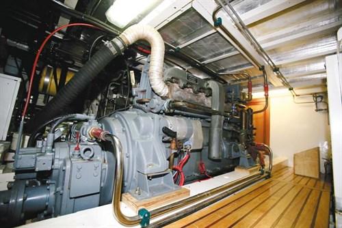 86hp Gardner 6LW marine engine