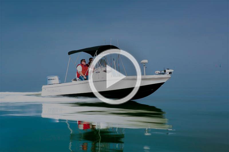 Robalo Cayman 206 centre console boat