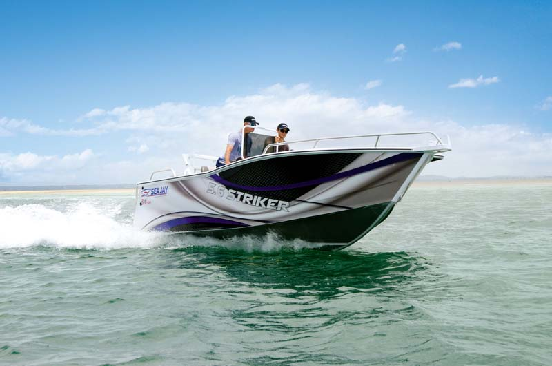 Sea Jay 5.6 Striker centre console
