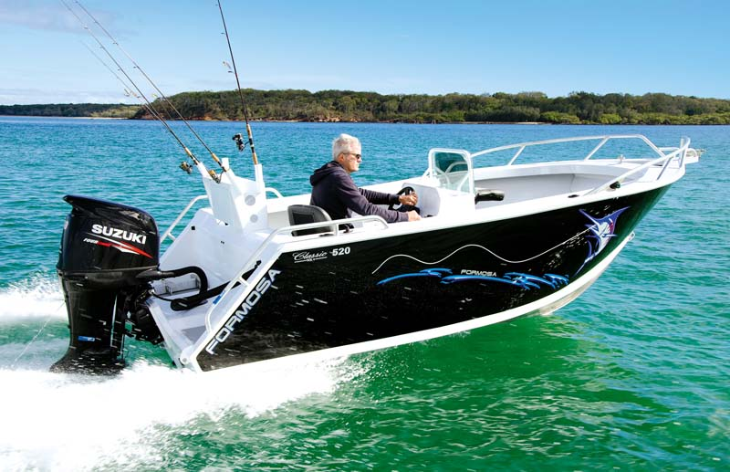 Formosa Classic Mk4 520 side console boat