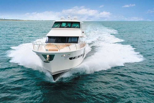 Horizon V72 luxury motoryacht