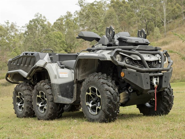 Can Am Outlander 650 XT 6x 6_4