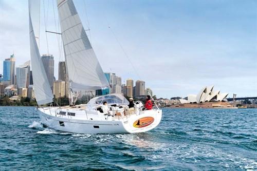 Hanse 455 sailing boat