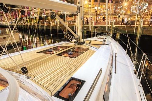 Hanse 455 deck