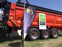 Brochard Manure Spreader Imported MOTY  Elmore 2015