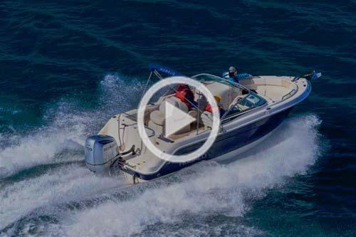 Robalo R227 fishing boat bowrider