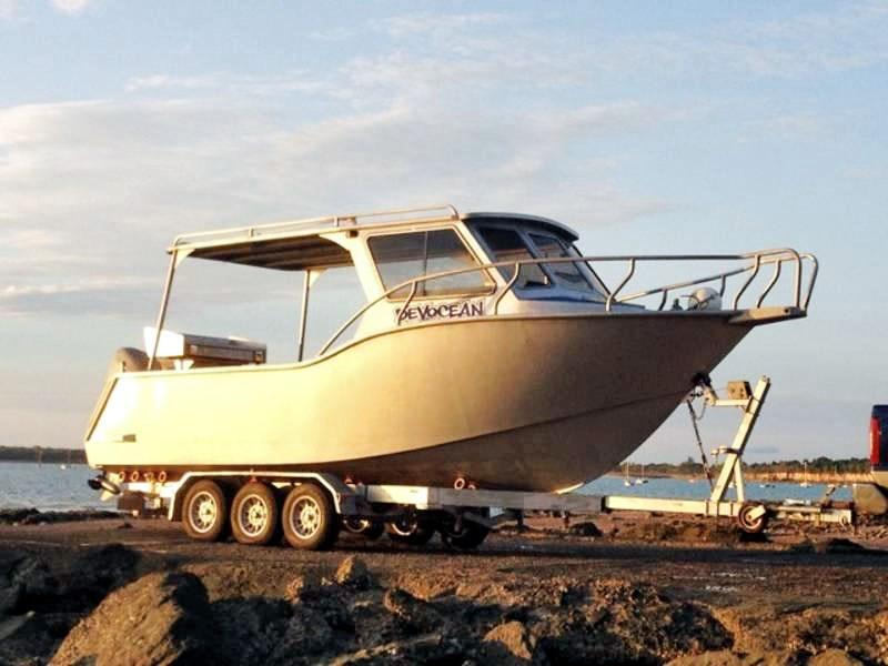 Custom boat trailer