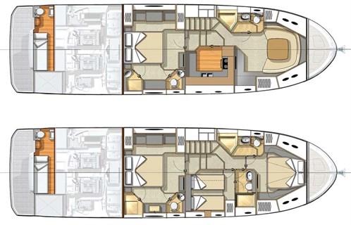 Beneteau Monte Carlo 6 deck plans